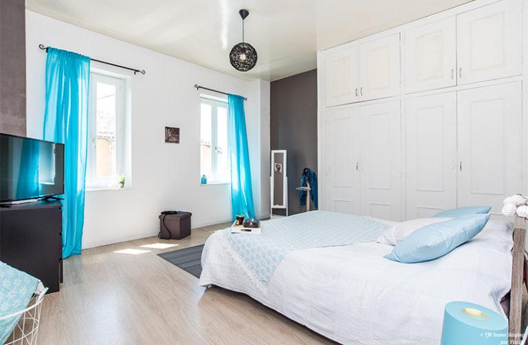 maison à vendre beaumont - chambre