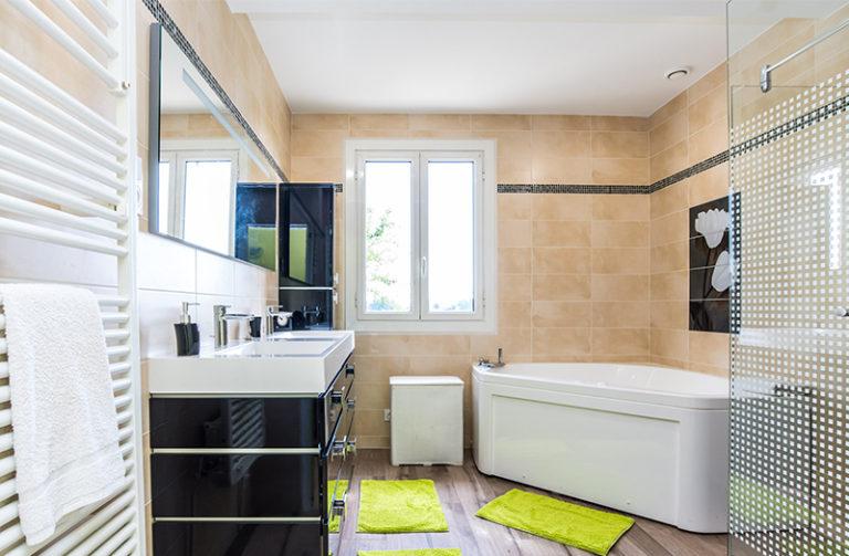 maison à vendre lavilledieu - salle de bains